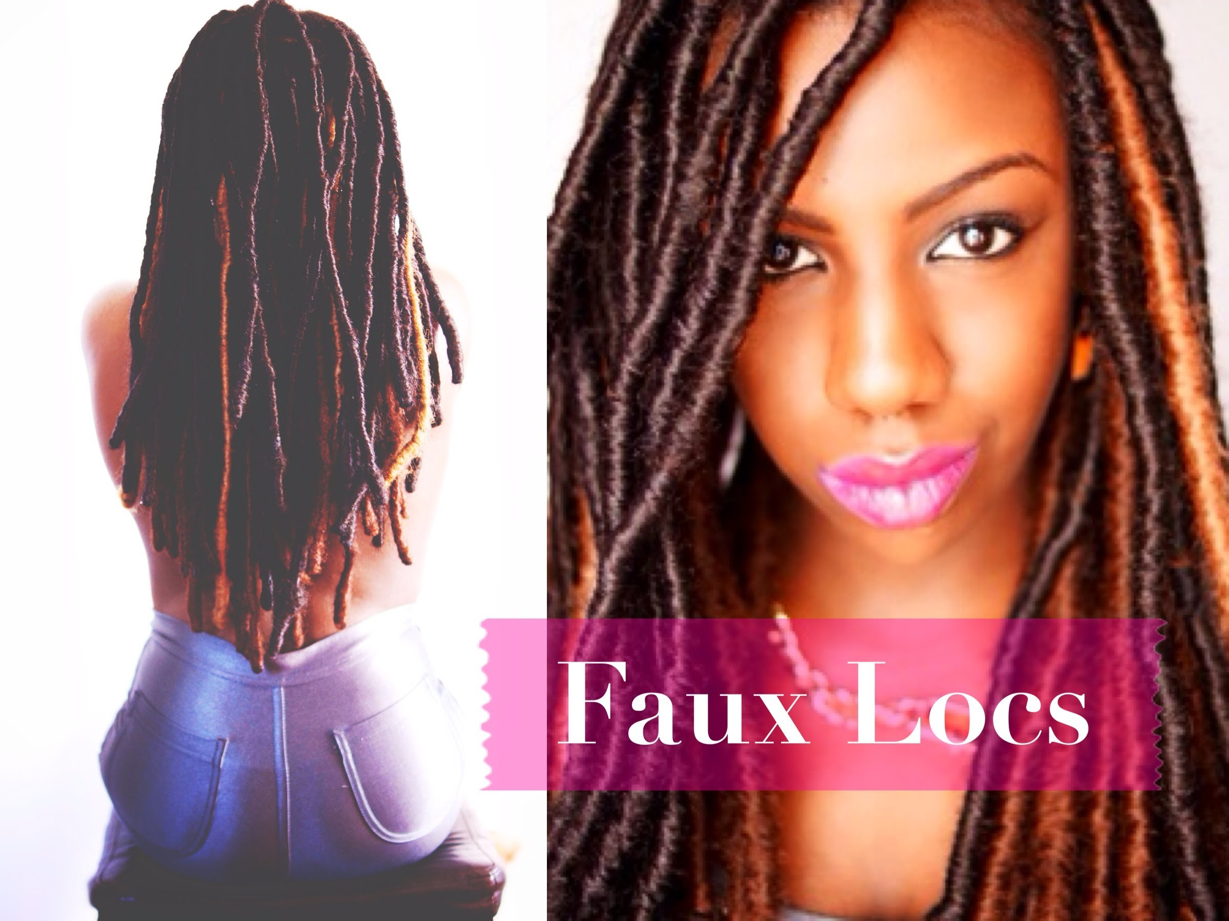 Faux Locs Marley Locs Temporary Loc Extensions Protective Styling