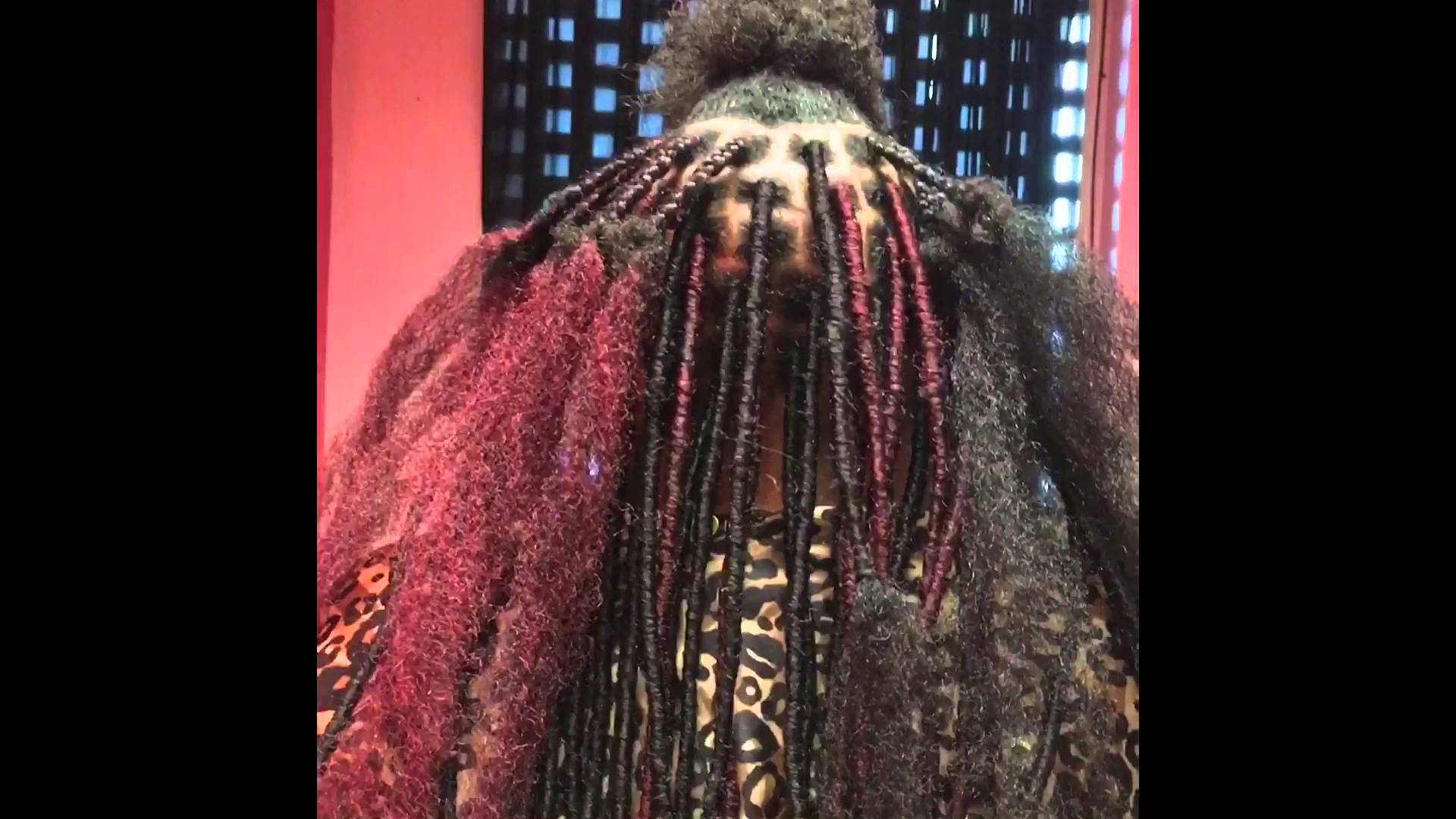 How To Do Faux Locs Detailed Using Cuban Twist Razac Products Company