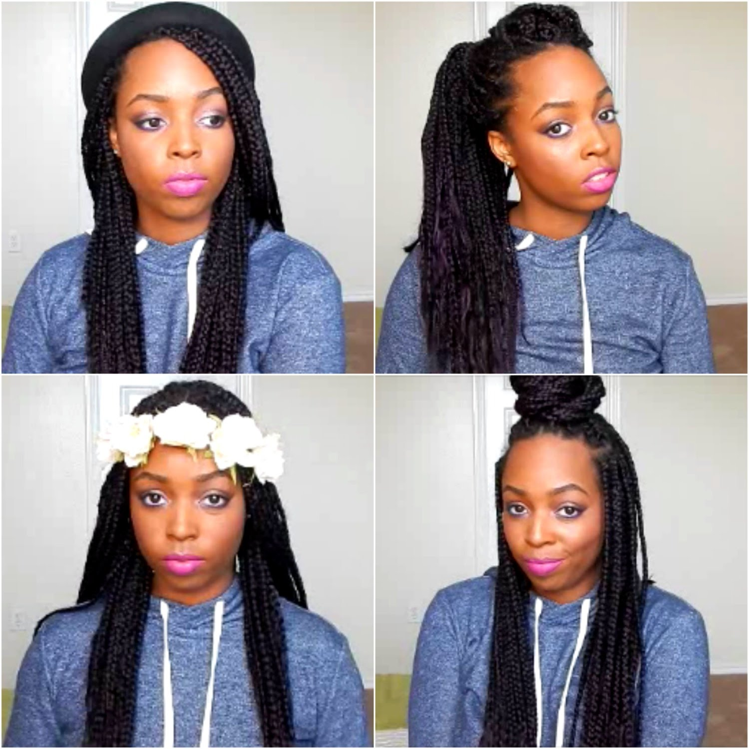 how to style box braids and twists/locs (24 styles) – razac products