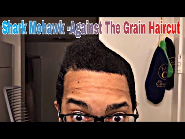 720 Waves Shark Mohawk Against The Grain Atg Haircut Hd Razac